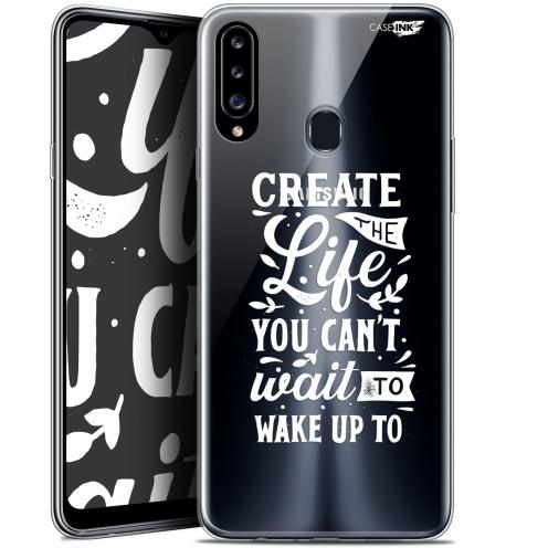 "Carcasa Gel Extra Fina Samsung Galaxy A20s (6.5"") Design Wake Up Your Life"
