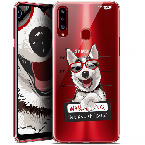 "Carcasa Gel Extra Fina Samsung Galaxy A20s (6.5"") Design Beware The Husky Dog"