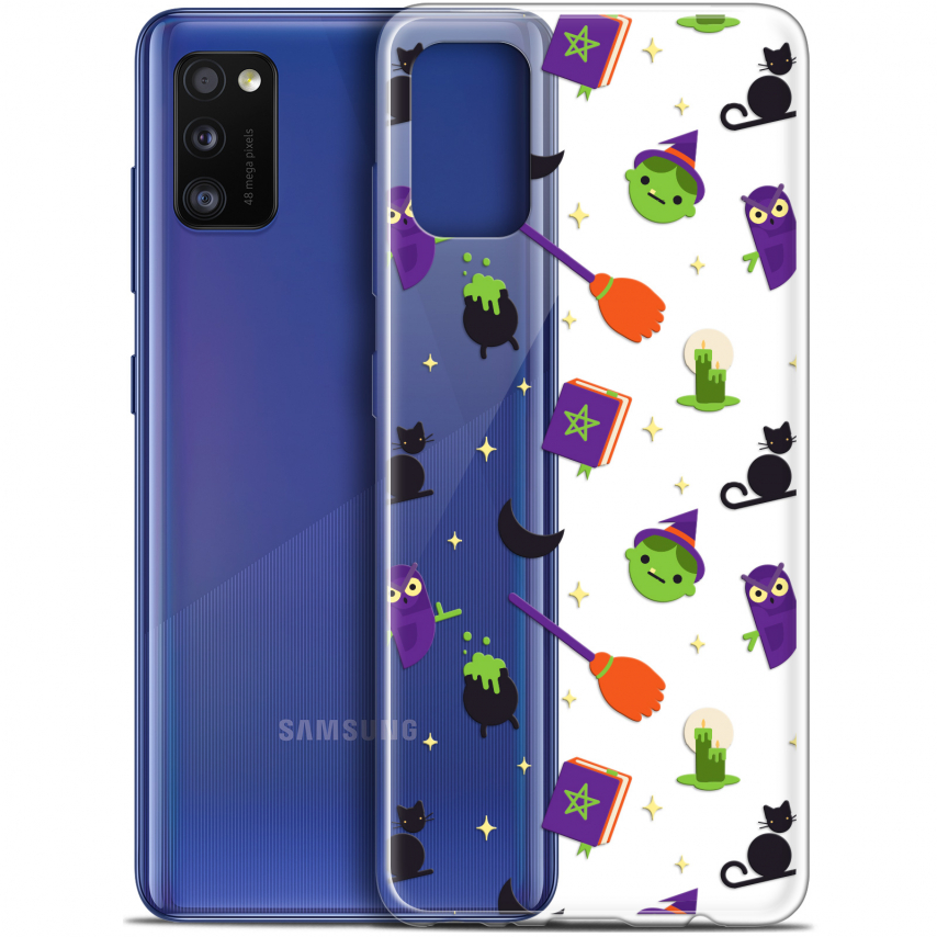 "Carcasa Gel Extra Fina Samsung Galaxy A41 (6.1"") Halloween Witch Potter"