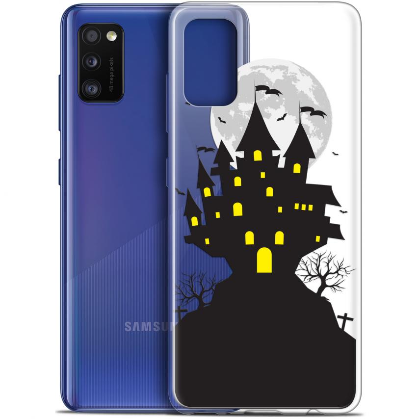 "Carcasa Gel Extra Fina Samsung Galaxy A41 (6.1"") Halloween Castle Scream"