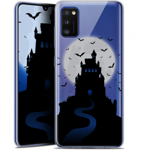 "Carcasa Gel Extra Fina Samsung Galaxy A41 (6.1"") Halloween Castle Nightmare"