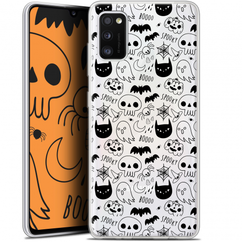 "Carcasa Gel Extra Fina Samsung Galaxy A41 (6.1"") Halloween Spooky"
