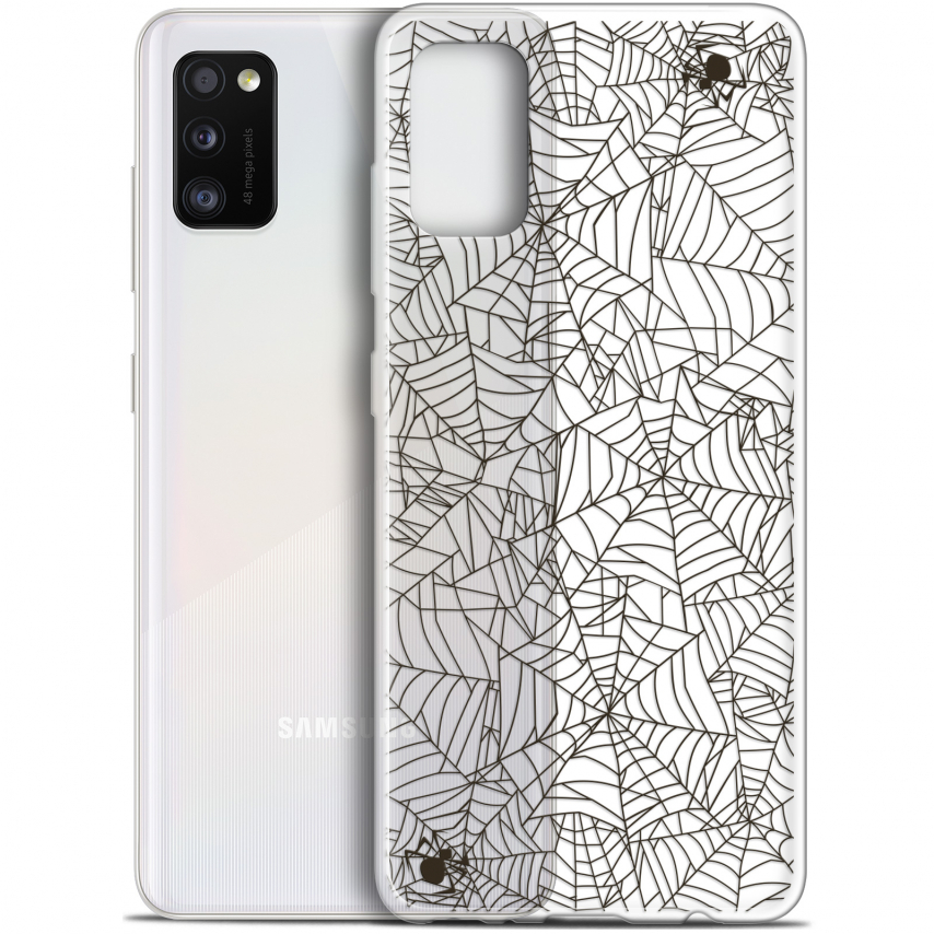 "Carcasa Gel Extra Fina Samsung Galaxy A41 (6.1"") Halloween Spooky Spider"