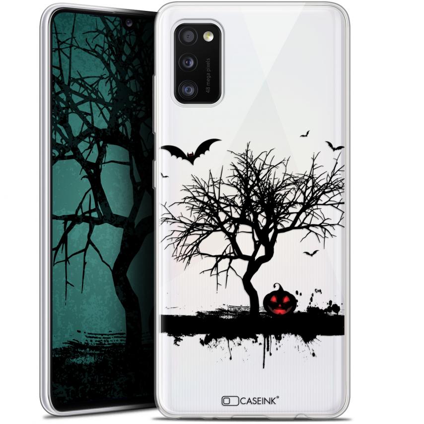 "Carcasa Gel Extra Fina Samsung Galaxy A41 (6.1"") Halloween Devil's Tree"