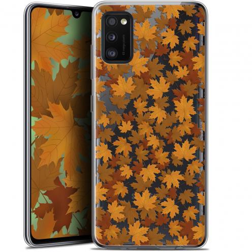 "Carcasa Gel Extra Fina Samsung Galaxy A41 (6.1"") Autumn 16 Feuilles"