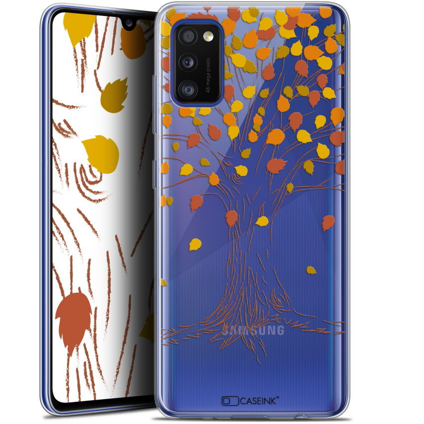 "Carcasa Gel Extra Fina Samsung Galaxy A41 (6.1"") Autumn 16 Tree"