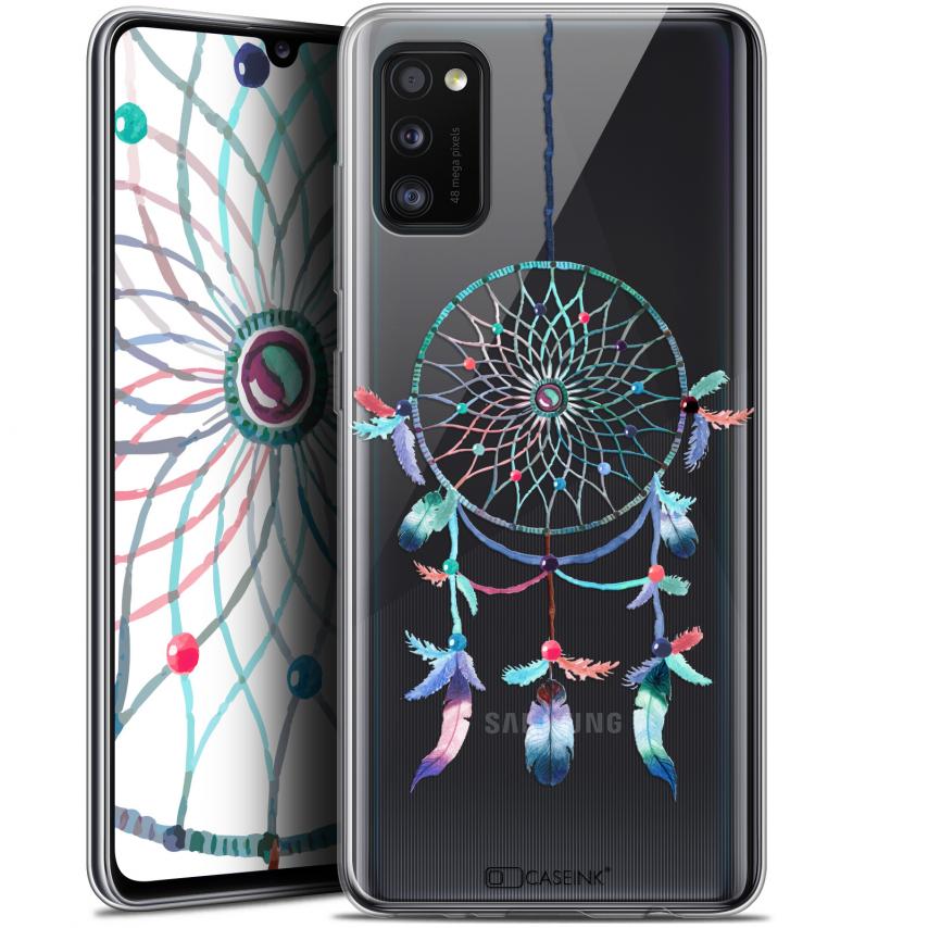 """Carcasa Gel Extra Fina Samsung Galaxy A41 (6.1"""") Dreamy Attrape Rêves Rainbow"""