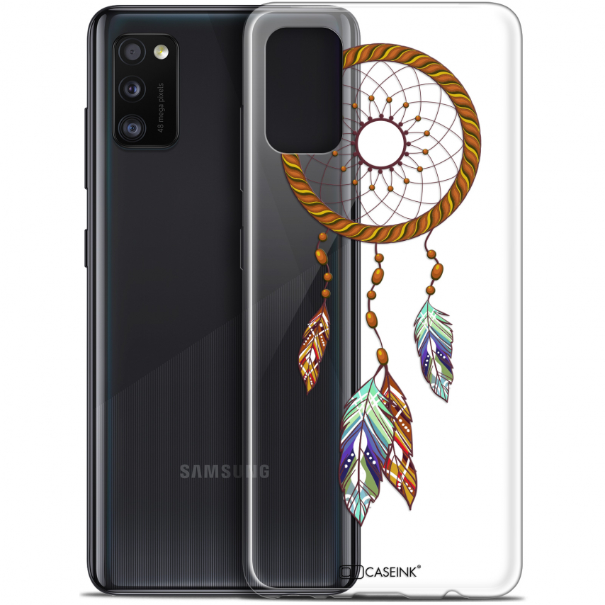"Carcasa Gel Extra Fina Samsung Galaxy A41 (6.1"") Dreamy Attrape Rêves Shine"