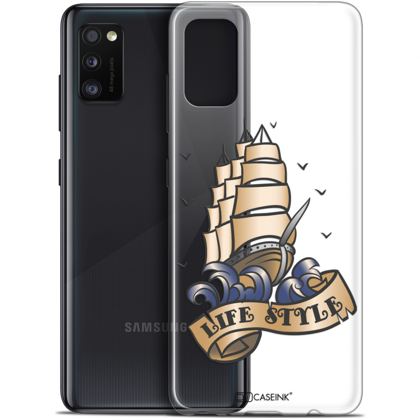 "Carcasa Gel Extra Fina Samsung Galaxy A41 (6.1"") Tatoo Lover Fashion"