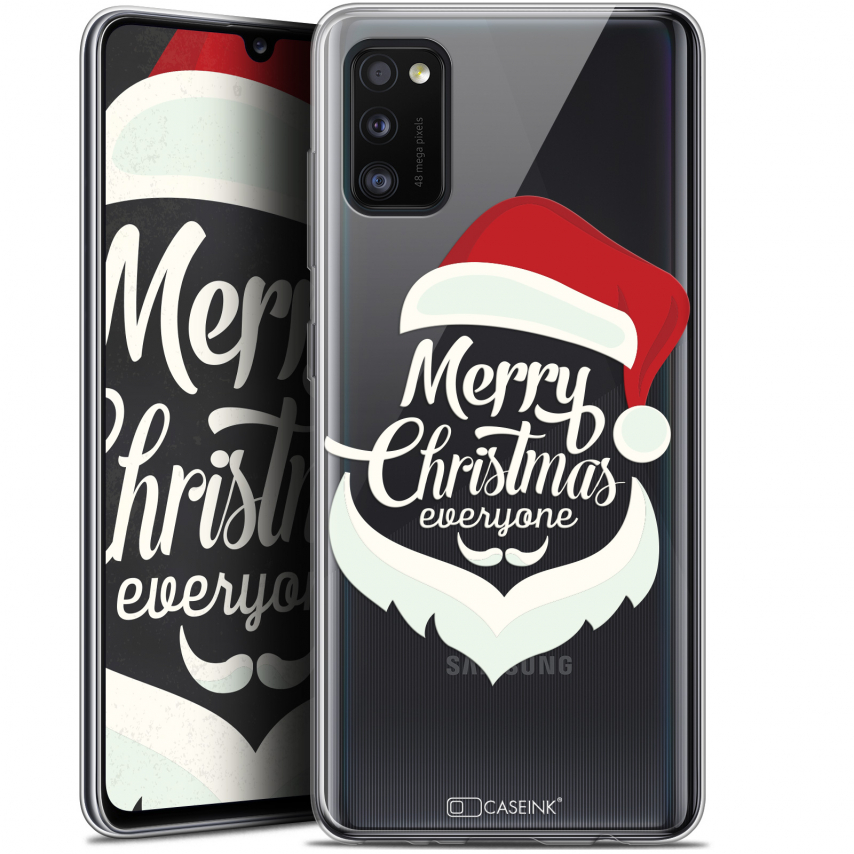 "Carcasa Gel Extra Fina Samsung Galaxy A41 (6.1"") Noël 2017 Merry Everyone"