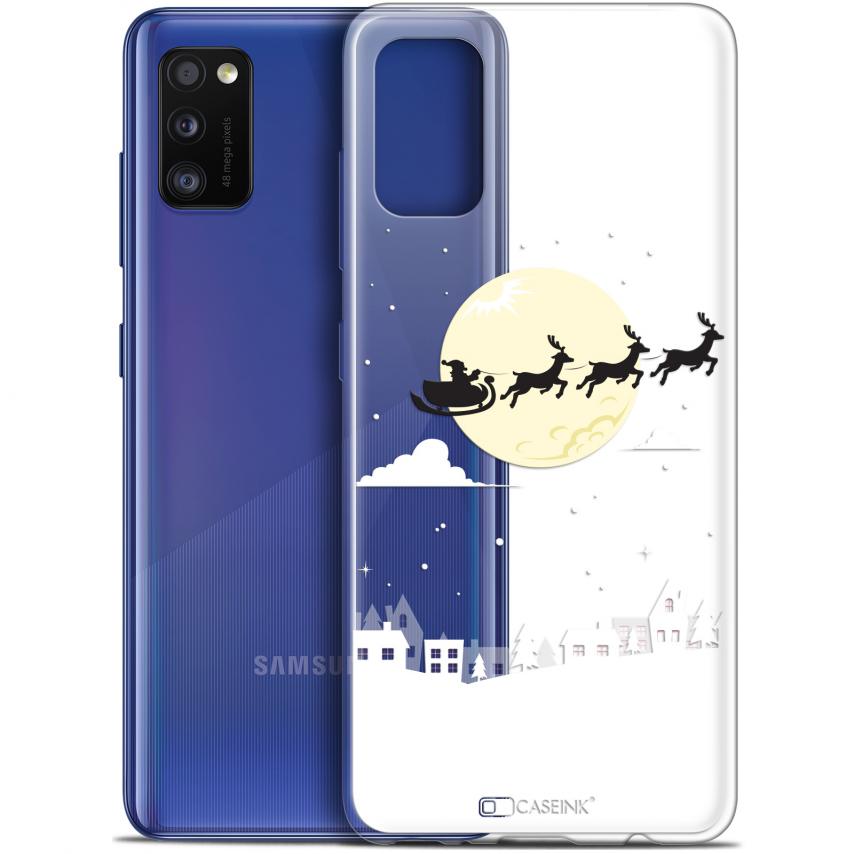 """Carcasa Gel Extra Fina Samsung Galaxy A41 (6.1"""") Noël 2017 Flying Stanta"""