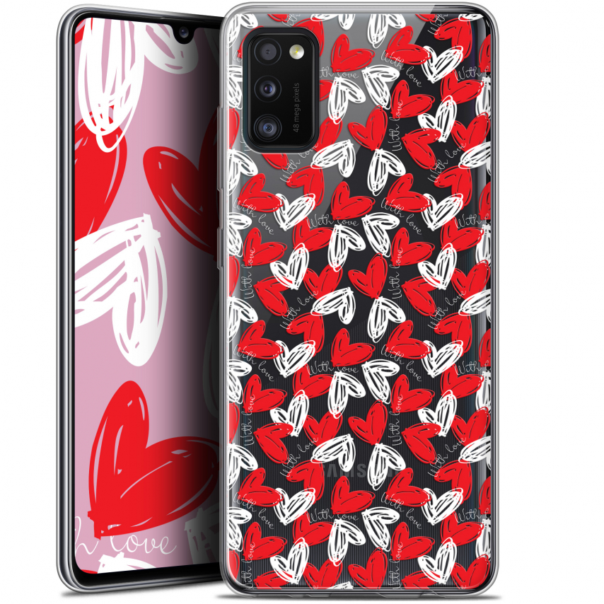 "Carcasa Gel Extra Fina Samsung Galaxy A41 (6.1"") Love With Love"