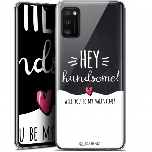 "Carcasa Gel Extra Fina Samsung Galaxy A41 (6.1"") Love Hey Handsome !"