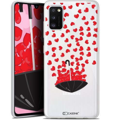 "Carcasa Gel Extra Fina Samsung Galaxy A41 (6.1"") Love Parapluie d'Amour"