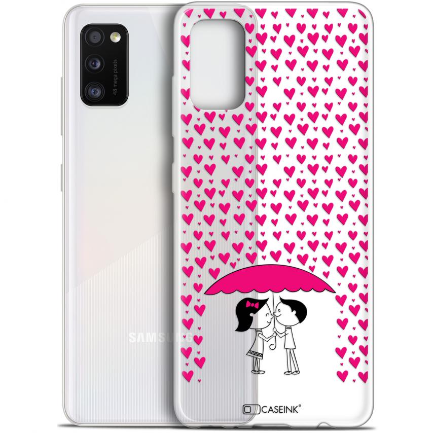 """Carcasa Gel Extra Fina Samsung Galaxy A41 (6.1"""") Love Pluie d'Amour"""