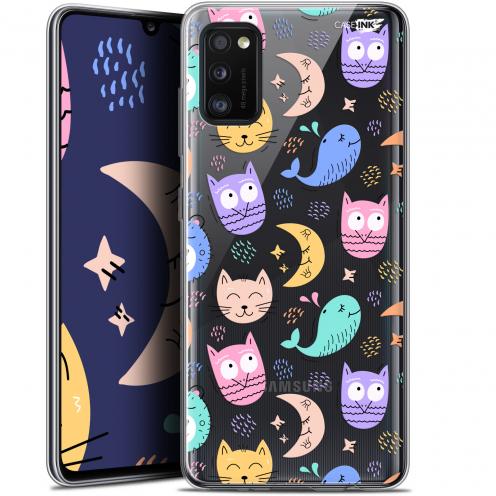"Carcasa Gel Extra Fina Samsung Galaxy A41 (6.1"") Design Chat Hibou"
