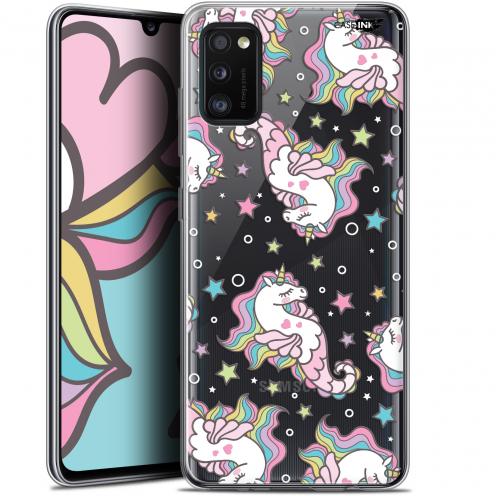 "Carcasa Gel Extra Fina Samsung Galaxy A41 (6.1"") Design Licorne Dormante"