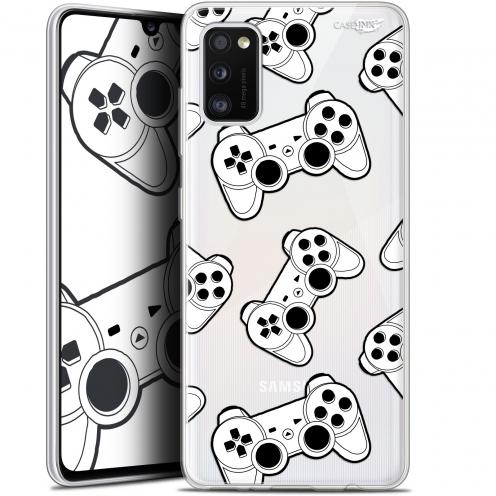 "Carcasa Gel Extra Fina Samsung Galaxy A41 (6.1"") Design Game Play Joysticks"