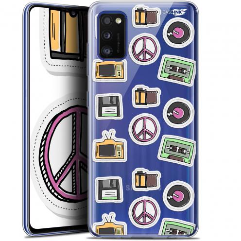 "Carcasa Gel Extra Fina Samsung Galaxy A41 (6.1"") Design Vintage Stickers"