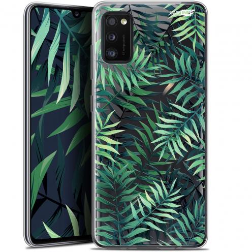 """Carcasa Gel Extra Fina Samsung Galaxy A41 (6.1"""") Design Feuilles des Tropiques"""