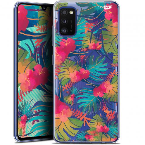 "Carcasa Gel Extra Fina Samsung Galaxy A41 (6.1"") Design Couleurs des Tropiques"