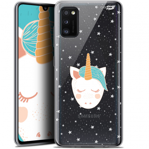 "Carcasa Gel Extra Fina Samsung Galaxy A41 (6.1"") Design Licorne Dors"