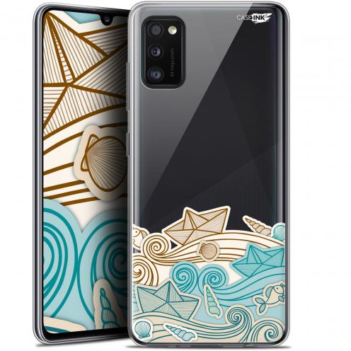 "Carcasa Gel Extra Fina Samsung Galaxy A41 (6.1"") Design Bateau de Papier"