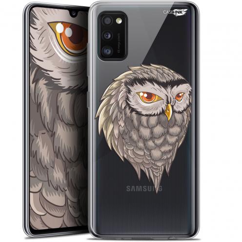 """Carcasa Gel Extra Fina Samsung Galaxy A41 (6.1"""") Design Hibou Draw"""