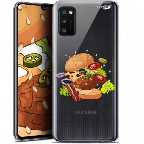 "Carcasa Gel Extra Fina Samsung Galaxy A41 (6.1"") Design Splash Burger"