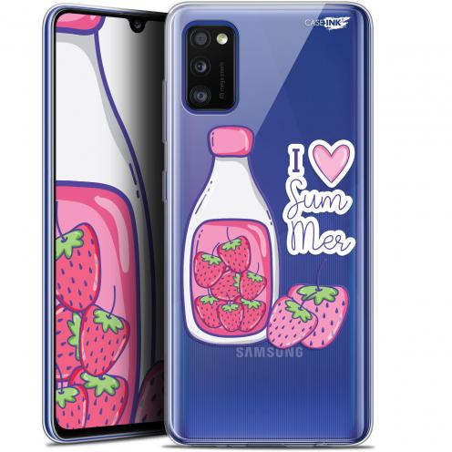 "Carcasa Gel Extra Fina Samsung Galaxy A41 (6.1"") Design Milky Summer"