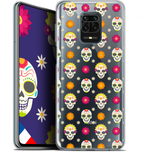 "Carcasa Gel Extra Fina Xiaomi Redmi Note 9S (6.67"") Halloween Skull Halloween"