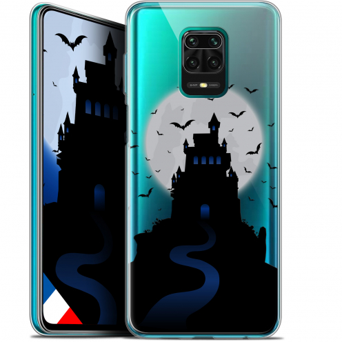"Carcasa Gel Extra Fina Xiaomi Redmi Note 9S (6.67"") Halloween Castle Nightmare"