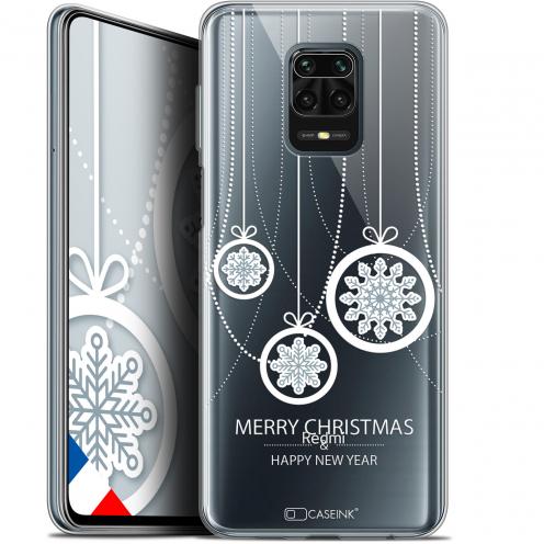 "Carcasa Gel Extra Fina Xiaomi Redmi Note 9S (6.67"") Noël 2017 Christmas Balls"