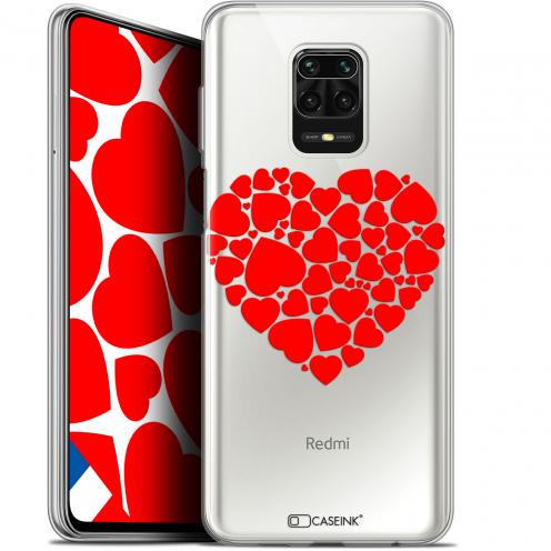 "Carcasa Gel Extra Fina Xiaomi Redmi Note 9S (6.67"") Love Coeur des Coeurs"