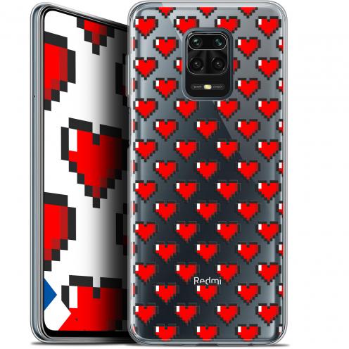 "Carcasa Gel Extra Fina Xiaomi Redmi Note 9S (6.67"") Love Pixel Art"