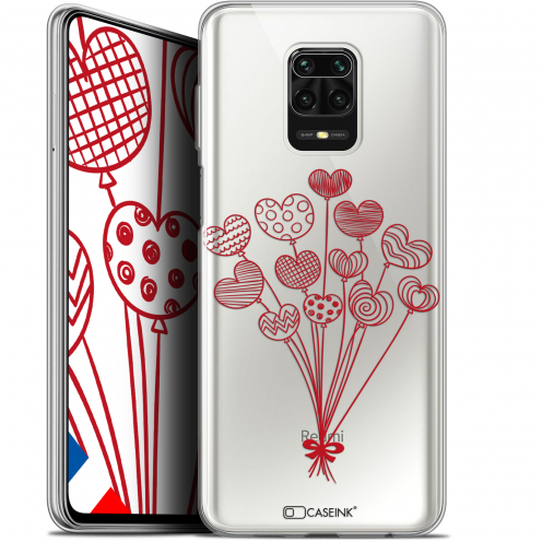 "Carcasa Gel Extra Fina Xiaomi Redmi Note 9S (6.67"") Love Ballons d'amour"