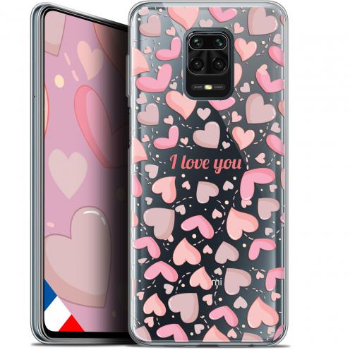 """Carcasa Gel Extra Fina Xiaomi Redmi Note 9S (6.67"""") Love I Love You"""