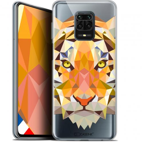 "Carcasa Gel Extra Fina Xiaomi Redmi Note 9S (6.67"") Polygon Animals Tigre"