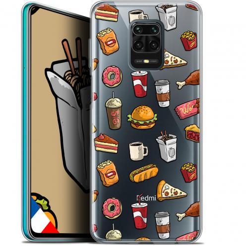 "Carcasa Gel Extra Fina Xiaomi Redmi Note 9S (6.67"") Foodie Fast Food"