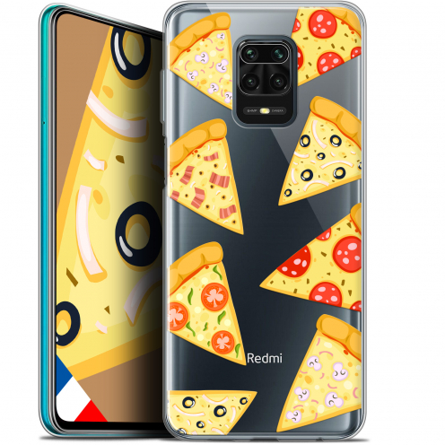 "Carcasa Gel Extra Fina Xiaomi Redmi Note 9S (6.67"") Foodie Pizza"