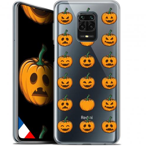 "Carcasa Gel Extra Fina Xiaomi Redmi Note 9S (6.67"") Halloween Smiley Citrouille"