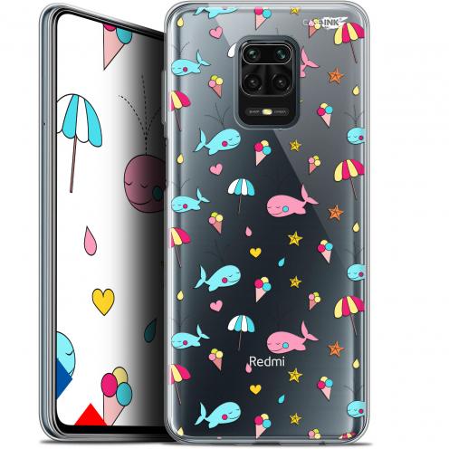 "Carcasa Gel Extra Fina Xiaomi Redmi Note 9S (6.67"") Design Baleine à la Plage"