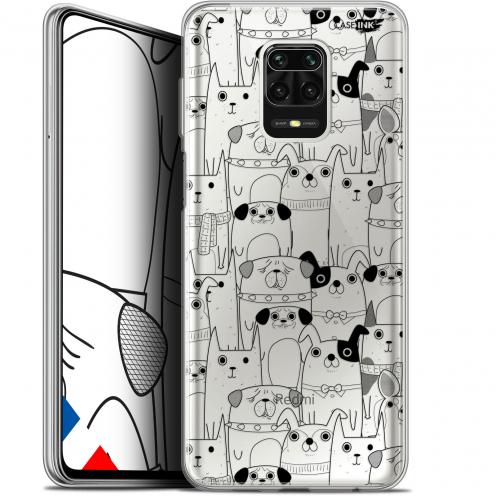 "Carcasa Gel Extra Fina Xiaomi Redmi Note 9S (6.67"") Design Chien Noir"