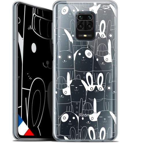 "Carcasa Gel Extra Fina Xiaomi Redmi Note 9S (6.67"") Design Lapin Blanc"