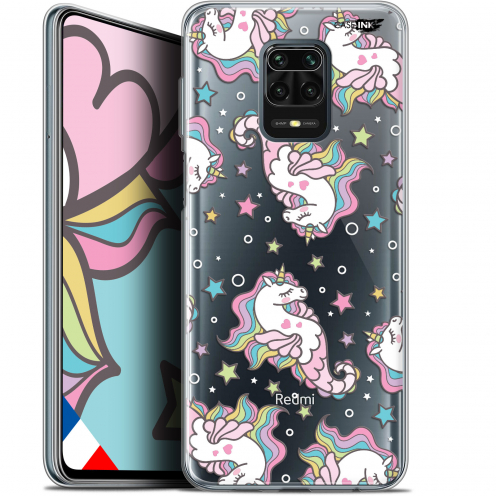 "Carcasa Gel Extra Fina Xiaomi Redmi Note 9S (6.67"") Design Licorne Dormante"