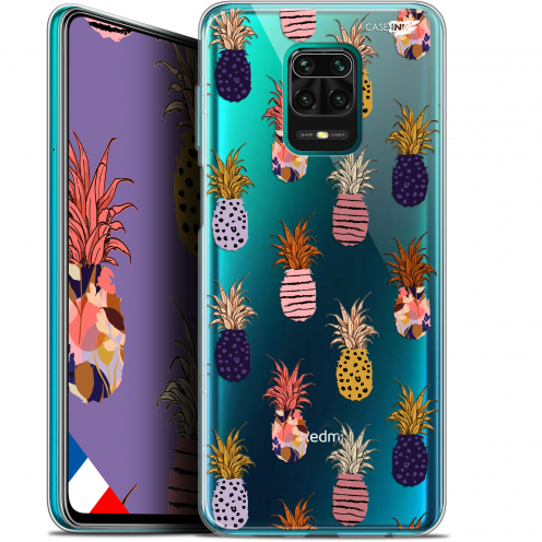 "Carcasa Gel Extra Fina Xiaomi Redmi Note 9S (6.67"") Design Ananas Gold"