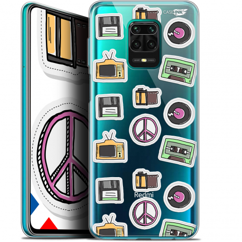 "Carcasa Gel Extra Fina Xiaomi Redmi Note 9S (6.67"") Design Vintage Stickers"