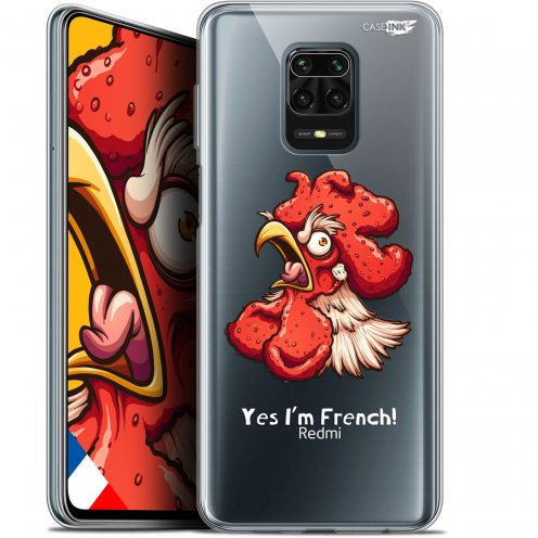 "Carcasa Gel Extra Fina Xiaomi Redmi Note 9S (6.67"") Design I'm French Coq"