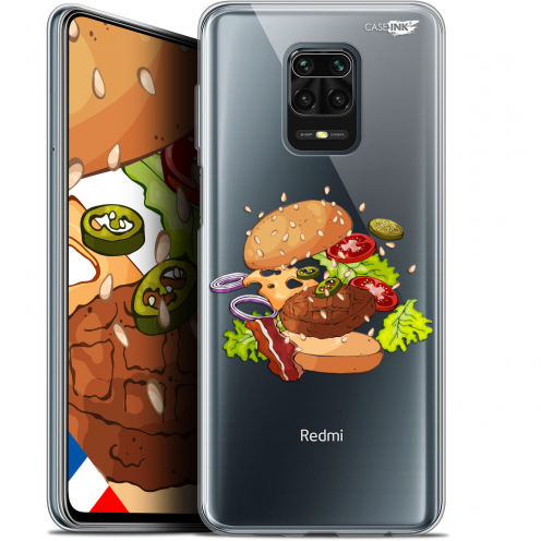 "Carcasa Gel Extra Fina Xiaomi Redmi Note 9S (6.67"") Design Splash Burger"