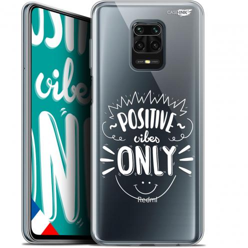 "Carcasa Gel Extra Fina Xiaomi Redmi Note 9S (6.67"") Design Positive Vibes Only"